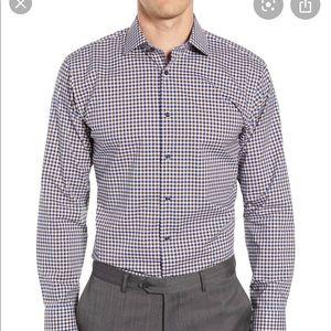 Men's Michael Kors fitted dress shirt